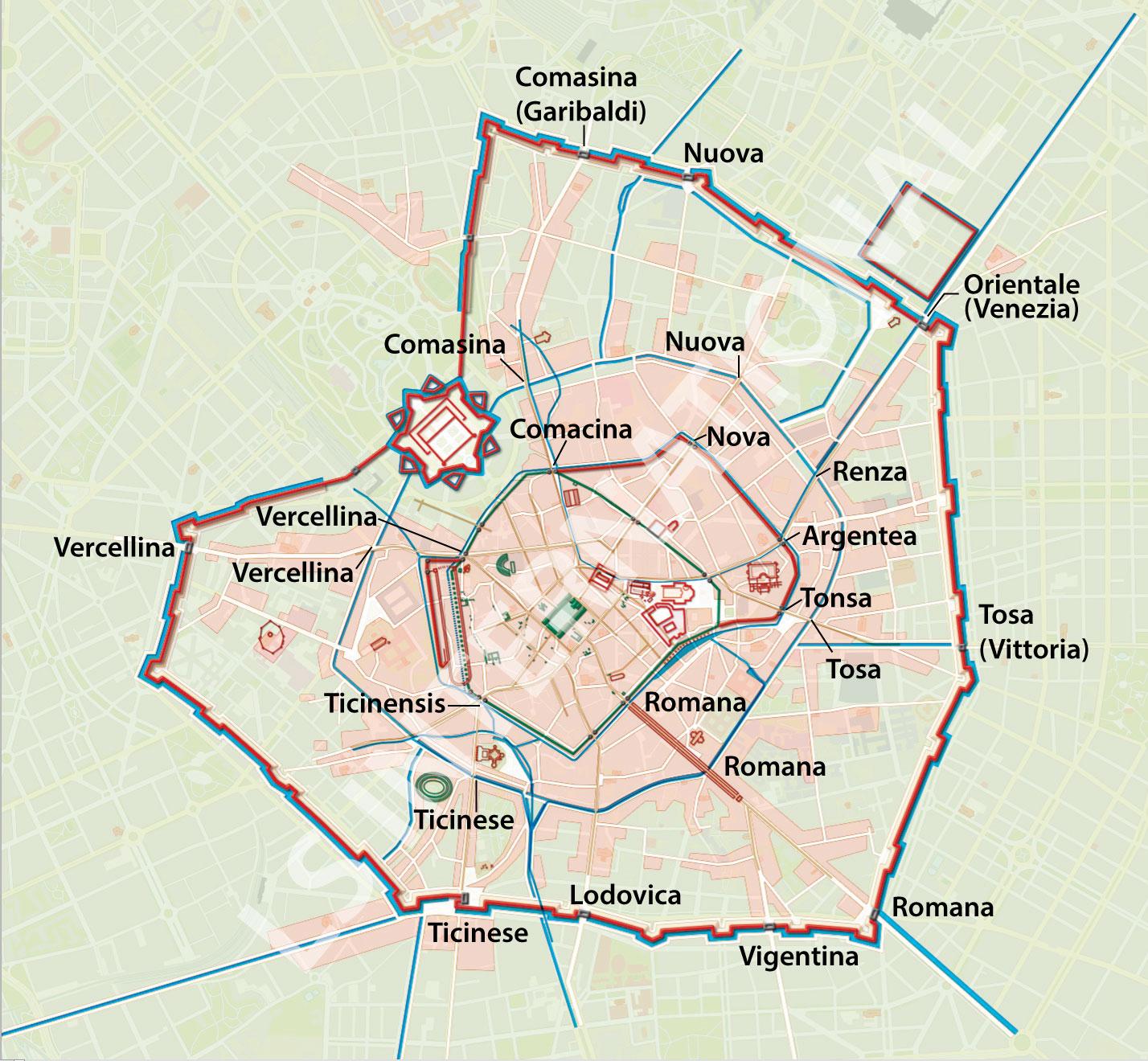 Le antiche Porte di Milano | Geostoria di Milano